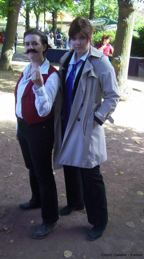 AHHH, Hercule Poirot und Inspector Columbo.