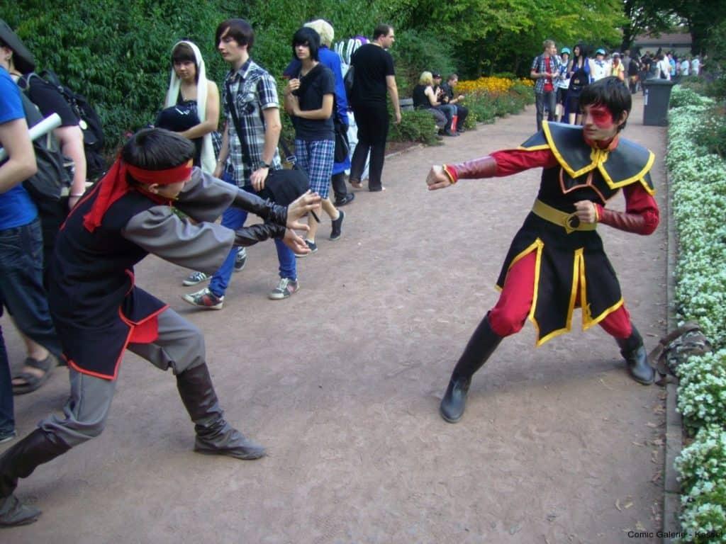 Mein Kung Fu ist besser als Dein Kung Fu.