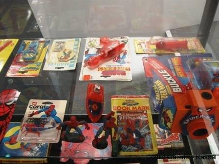 Nicht nur Original Seiten gab es in der Ausstellung - AMAZING! 50 Jahre Spider-Man - zu sehen.