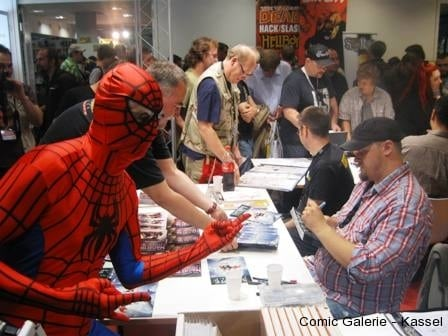 Selbst Spider-Man ging leer aus.