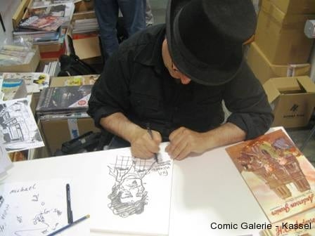 Thierry Capezzone porträtiert den Micha.