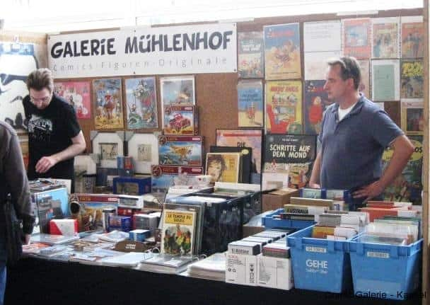 Tim und Struppi Raritäten bei Galerie Mühlenhof.