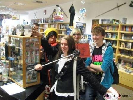 Wir hatten auch andere Kunden im Laden